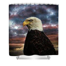 Thunder Eagle Shower Curtain