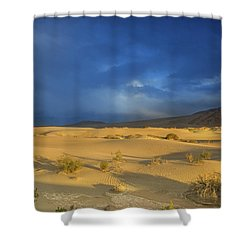 Thunder Over The Desert Shower Curtain