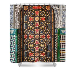 Tiled Door Of Sevilla Shower Curtain