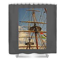 Time To Set Sail Shower Curtain