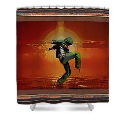 Tip Toe Dancer Shower Curtain