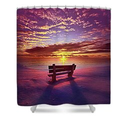 To Belong To Oneself Shower Curtain