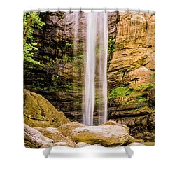 Toccoa Falls Shower Curtain