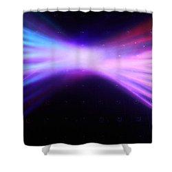 Tokyo Lights Shower Curtain