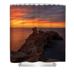Total Calm At A Sunrise In Ibiza Shower Curtain
