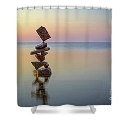Total Zen Shower Curtain