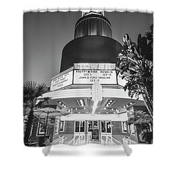 Tower In Silence- Shower Curtain