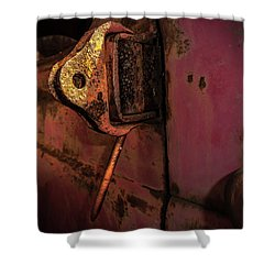 Truck Hinge Shower Curtain