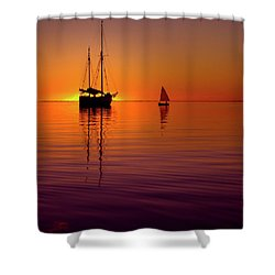 Tranquility Bay Shower Curtain