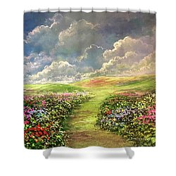 Transcend To Dreams Shower Curtain