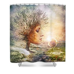 Treasure Shower Curtain