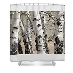 Tree Eyes Shower Curtain