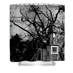 Treehouse I Shower Curtain