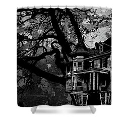 Treehouse IIi Shower Curtain
