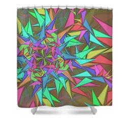 Trigonometry Shower Curtain