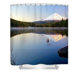 Trillium At Dawn Shower Curtain