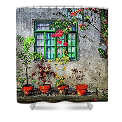 Shower Curtain featuring the photograph Tropical Wall by Michael Arend