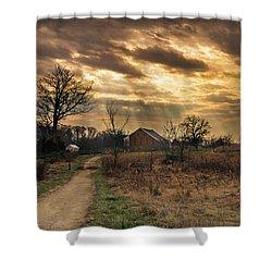 Trostle Sky Shower Curtain