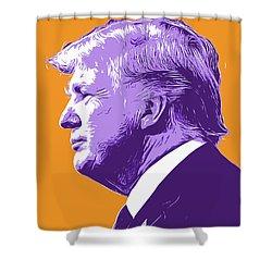 Trump Popart Shower Curtain
