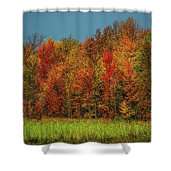 Tug Hill Colors Shower Curtain