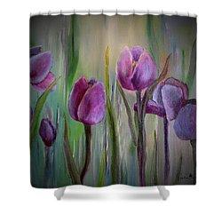Tulip Passion Shower Curtain