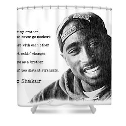 2pac Shower Curtains