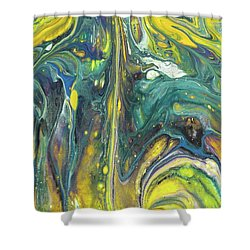 Twilight Spark Shower Curtain