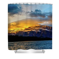Two Jack Lake, Banff National Park, Alberta, Canada Shower Curtain