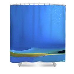 Undercurrents Shower Curtain