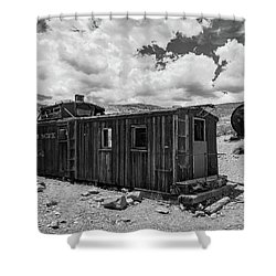 Union Pacific Caboose Shower Curtain