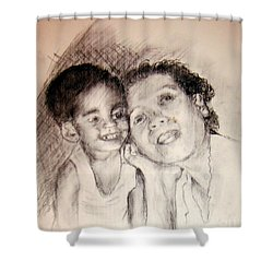 Unlimited Love 2 Shower Curtain