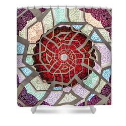 Untitled Meditation Shower Curtain