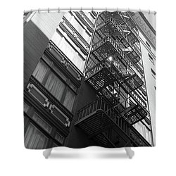 Up Or Down Shower Curtain