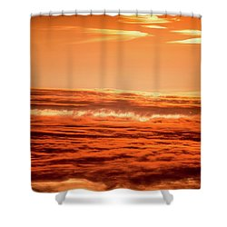 Shower Curtain featuring the photograph Upside Down by Onyonet  Photo Studios