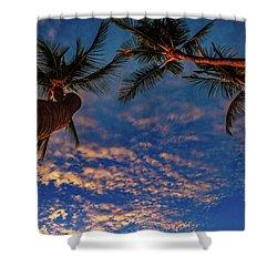 Upward Look Shower Curtain
