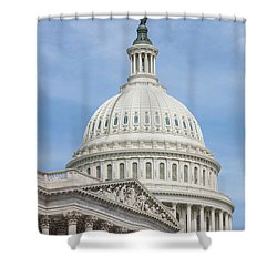 Us Capitol Building I Shower Curtain