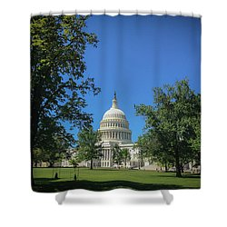 Us Capitol Shower Curtain