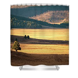 Valles Caldera Detail Shower Curtain