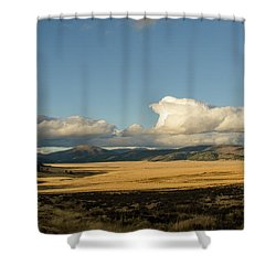 Valles Caldera National Preserve II Shower Curtain