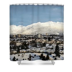 Vancouver Winterscape Shower Curtain