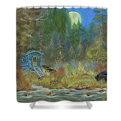 Vardo Dreams Shower Curtain