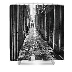 Venetian Alley Shower Curtain