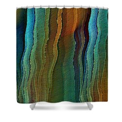 Vents Under The Sea Shower Curtain