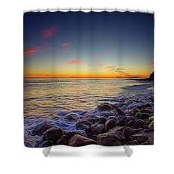 Ventura Sunset Shower Curtain