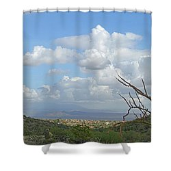 Shower Curtain featuring the photograph Verdant Valley 3 by Lynda Lehmann
