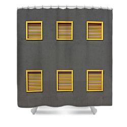 Verona Windows 3 Shower Curtain