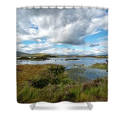 View In Glencoe, Scotland Shower Curtain