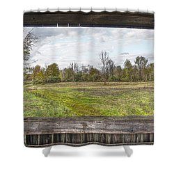 View Into Ohio's Nature Shower Curtain