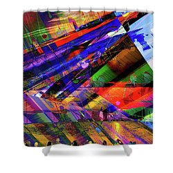 Visions Of Ghostlands Paul Shower Curtain