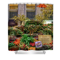 Vw Bug Planter Shower Curtain